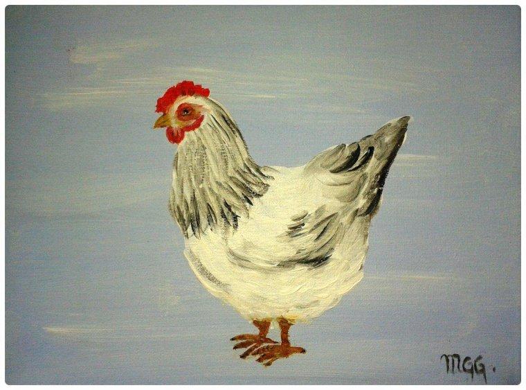 """Populaire Articles de poulesMoneAndCo taggés """"tableau de coq"""" - Peintures  GK87"""