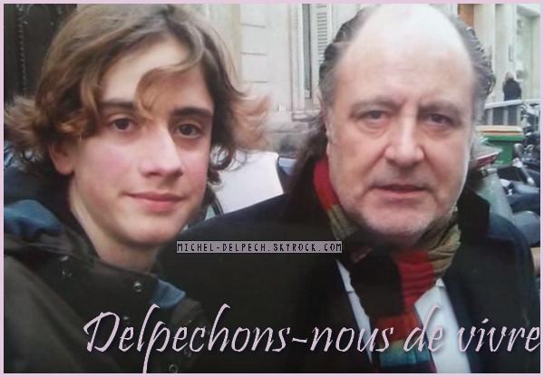 Michel Delpech : Le bouleversant hommage de son fan