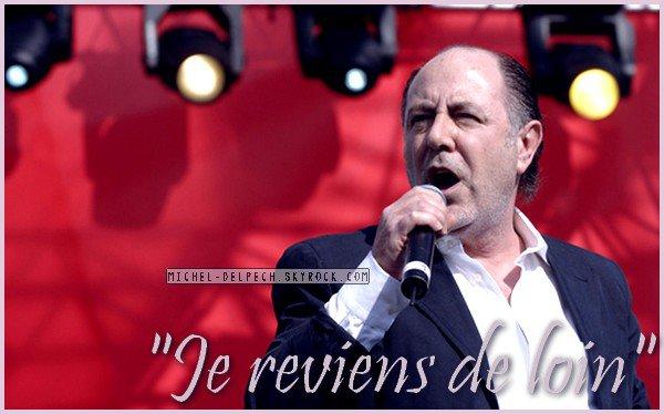 DOCUMENT RTL - Atteint d'un cancer de la langue et de la gorge, Michel Delpech a vécu une année 2013 des plus éprouvantes. Le chanteur pensait être en rémission.