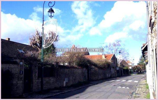Barbizon : Michel Delpech a vécu discrètement deux ans dans cette rue