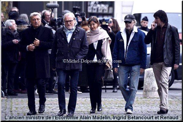 Dernier hommage à Michel Delpech à Paris
