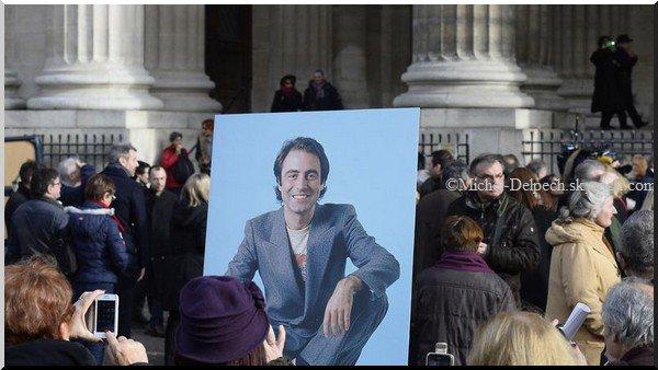 Obsèques de Michel Delpech: l'hommage de Renaud, Bruel, Bénabar...
