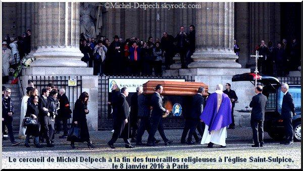 Il était chanteur: personnalités et anonymes disent adieu à Michel Delpech
