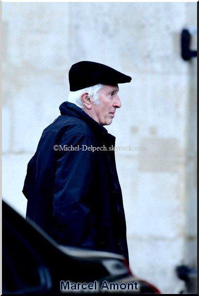 Michel Delpech les funérailles