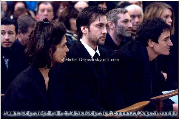 Obsèques de Michel Delpech : stars, proches et politiques ont dit adieu au chanteur (suite)