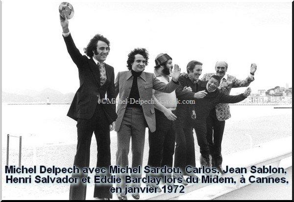 La carrière de Michel Delpech en images