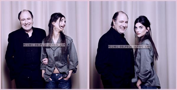 Michel Delpech et ses enfants