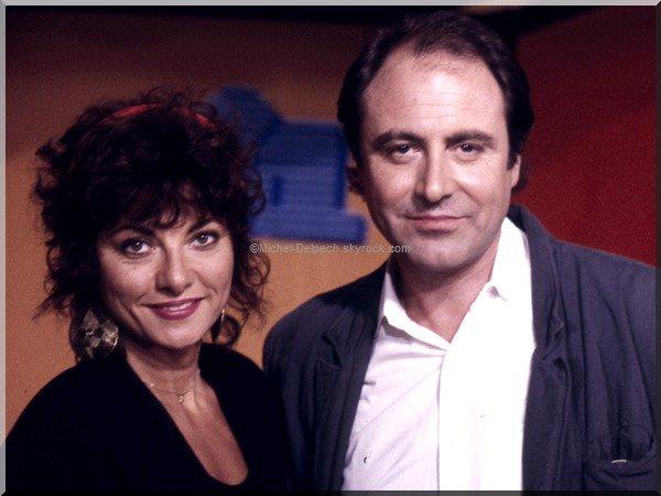 Michel Delpech, Le grand show, France 2 : comment a-t-il rencontré son épouse, Geneviève ?