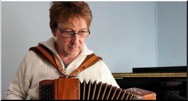 Il était l'accordéoniste de Delpech