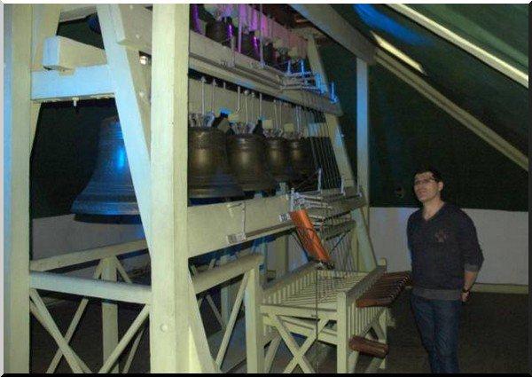 A Corneville-sur-Risle, le carillon ouvert au public le lundi de Pentecôte