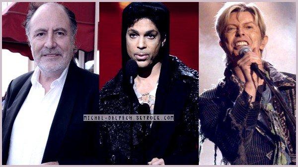Prince, Bowie, Delpech... ces grandes figures disparues en 2016