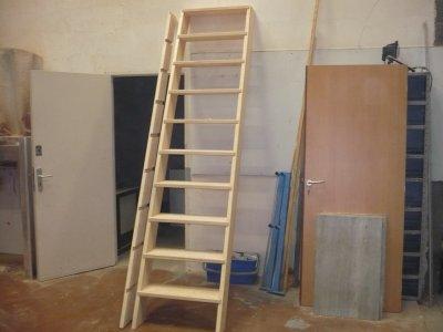echelle de meunier avec un petit souci 3 la menuiserie meuble ma vie. Black Bedroom Furniture Sets. Home Design Ideas