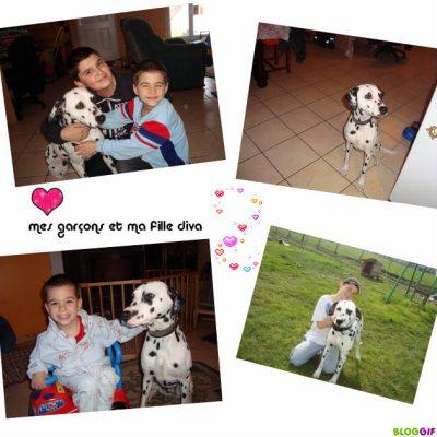 Diva et ses maitres Mars 2011 !