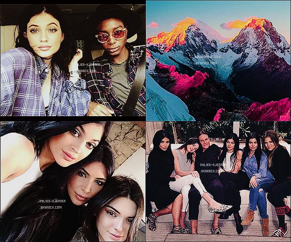 """"""" 21 / 01 / 15 : C'est en se cachant que Kylie à été vue toujours à Calabasas. """""""