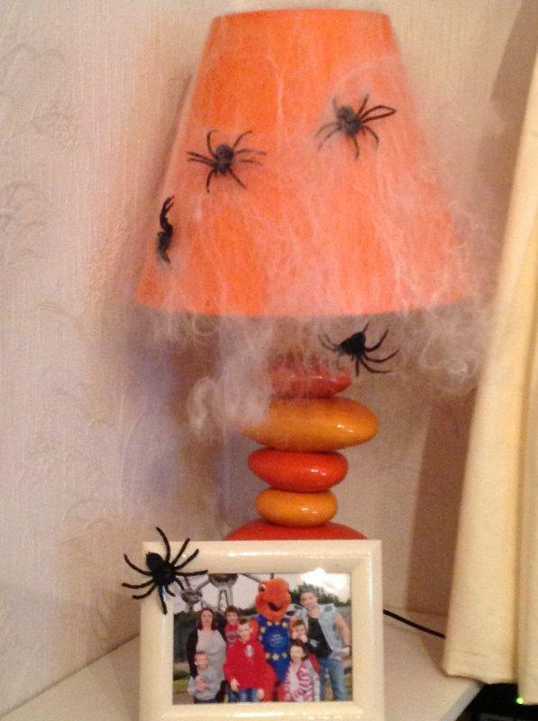 Ma décoration pour halloween .