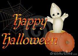 Happy halloween .