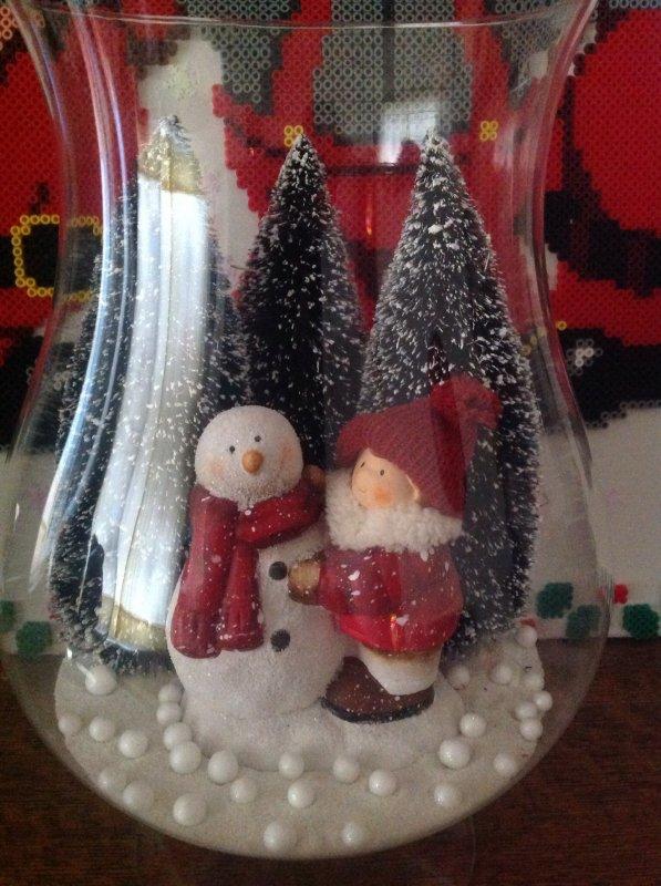 Vases pour ma décoration de Noël.
