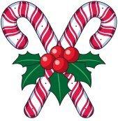 Recherche URGENT grille point de croix sucre d'orges comme la Photo pour la déco de Noël mercie