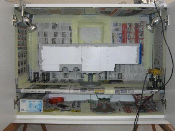 *cabine pour peinture a maquettes