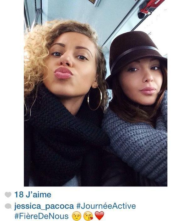 Photo de Jessica et Nabilla, postée par Jessica sur instagram.