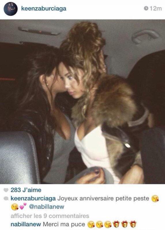 Photo postée par Kenza, la belle-s½ur de Nabilla sur instagram.