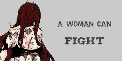 Fairy Tail - Une femme peut...