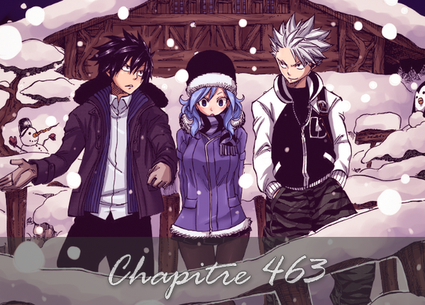Fairy Tail - Chapitre Scan 463 FR