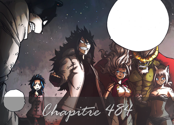 Fairy Tail - Chapitre Scan 484 FR