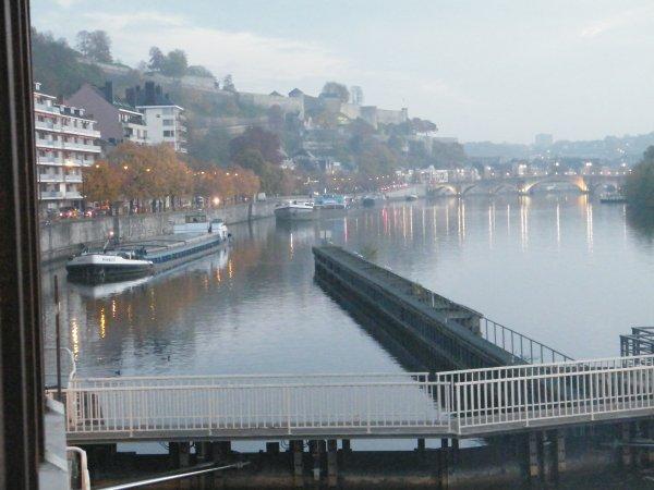 NOMADIS (B) & DC MOSA 2 suivent l'ISELLA dès 7h, ouverture suivant l'horaire hivernal sur la Haute Meuse (avant suppression en 2011...)