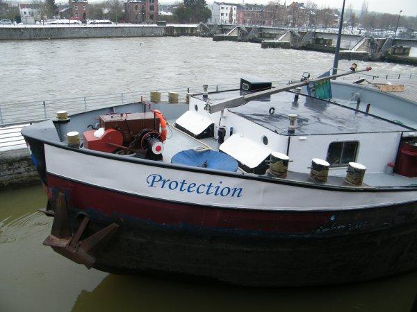 PROTECTION (NL) Maasbracht - GT.1171 - 80,00 m. 8,20 m. de retour à vide de Givet
