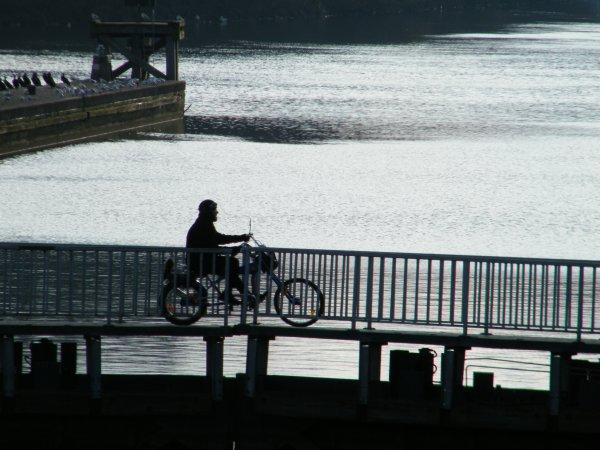 The Biker of La Plante   ;)