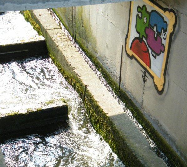 Jambes - Echelle à poissons ou galerie d'art...