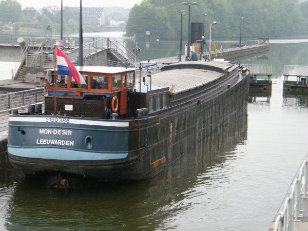 """MON DESIR (NL) Leeuwarden - GT.360 - 38,89m. 5,07m. Spits """"Van Praet 1941"""""""