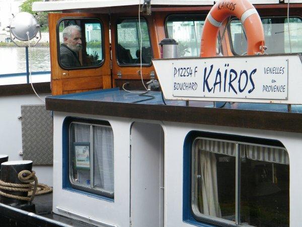 Petite leçon sur l'AIS par l'équipage du KAIROS....