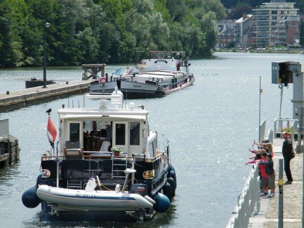 JA AN (NL)  Rappel des vitesses maximales autorisées sur la Meuse! - Salto (B)