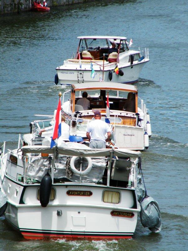 Retorm (NL), Altantica (NL), Facco (NL), Bernard'eau (B) Pro Contra (NL), Anaïs (B), Zapata (B), Friesland (GB), Billie Holiday (NL), Avonturier (NL), Festina Lente (NL), Danny (NL), Boreas (NL), Ben (NL), ...
