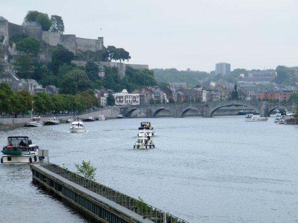 Etiage Meuse - Des réductions temporaires du tirant d'eau!