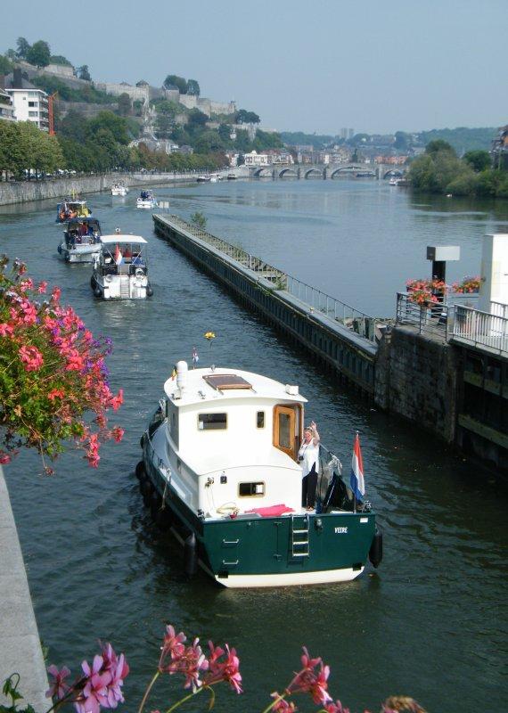 FREEDOM (B), LA GRANDE OURSE (B), AA KANT (NL), SHANTI (NL), ATLANTIS (NL), STAPPER (NL) de retour de la Haute Meuse