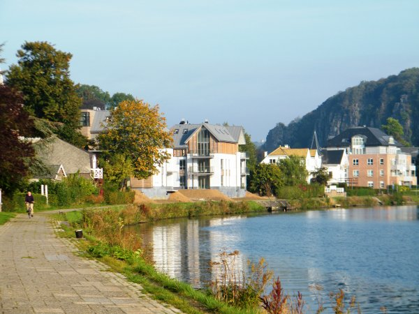 Balade sur le Ravel 2 entre Namur (La Plante) bk 45 et Anhée bk 27 (A/R)