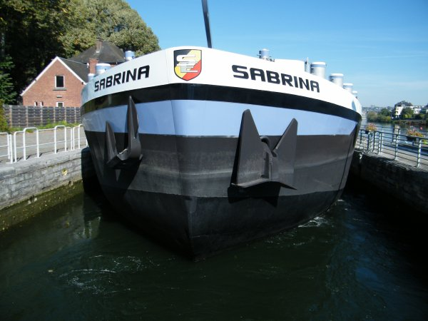 ISATIS (F) Janville - GT.835 - 61,00 m. 5,80 m.  / SABRINA (B), BARAKA (B), SAPHIR (B),  LE MOUCHE (B), ONVOLMAECKT SHIP (NL), ...