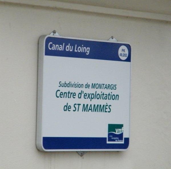 SAINT MAMMES  - Quai du Loing
