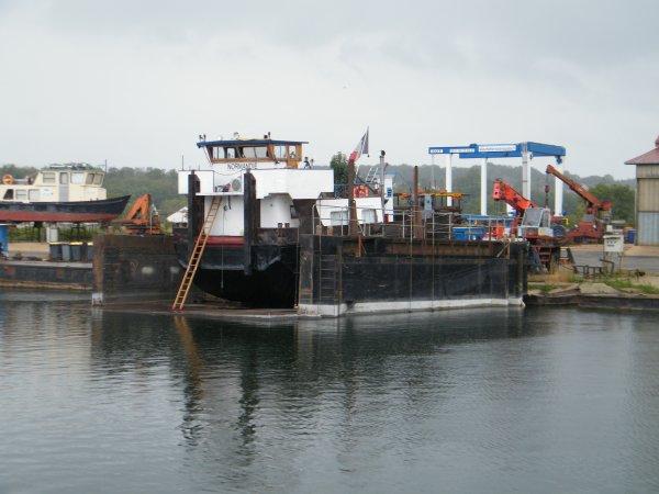 SAINT MAMMES, Batellerie et chantier naval