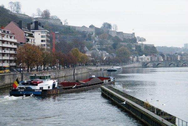 LA PLANTE Autrefois...et ce 11/11/11, jour férié manoeuvré comme un jour ouvrable en Wallonie; DC MOSA 2 (NL), SAPHIR(B), SPES MEA (F), CURSOR (B), RAYPA (B), VAMI (B),VIF ARGENT (B), ...de 7h à 18h sur la Haute Meuse.