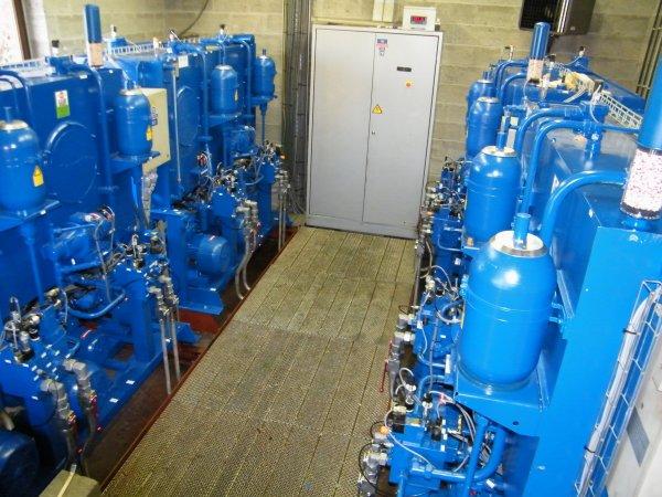 """Présentation des nouveaux groupes hydrauliques """"Rexroth 2011"""" du barrage de La Plante"""