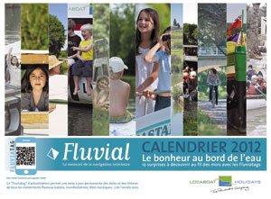 """FLUVIAL  n°218  (décembre-janvier) bientôt disponible chez votre libraire... Jeu-concours pour une croisière """"Le Boat"""""""
