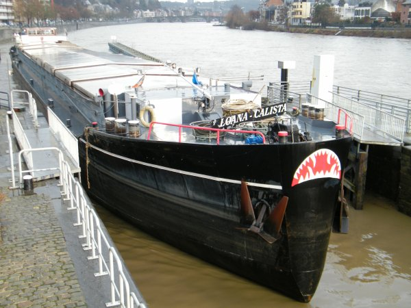 Les derniers voyages de 2011; HELL BOY (B), BEATA (NL), CURSOR (B), LOANA CALISTA (B), NOMADIS (B) - Intervention DPE DIVING SPRL (Thuin)