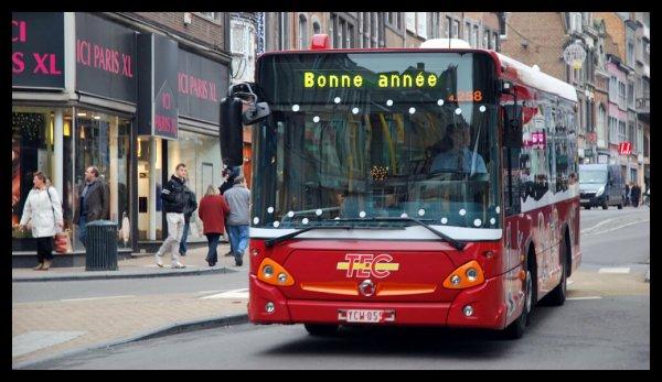 """BONNE ANNEE 2012 avec NAMUR EN PHOTOS & le """"Bia-bouquet"""" du 25 au 31 décembre 2011 de Christian Delwiche."""