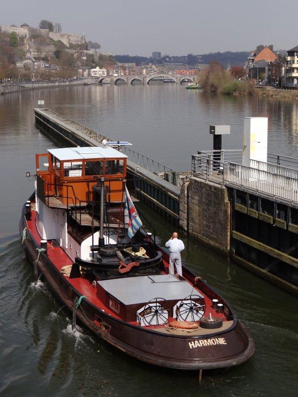 Le retour des capitaineries annonce la prochaine ouverture saisonnière des ports de plaisance namurois - HARMONIE (L), FATIMA II (NL), ...