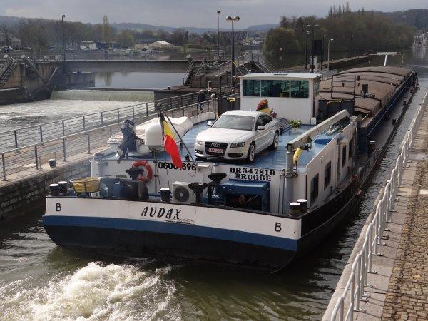 AUDAX (B) Brugge - GT.1415 - 80,00 m. 9,00 m. 2,82 m.