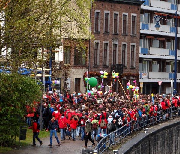 ARCTIC (NL), SAPHIR (B), DC MOSA 2 (NL), MEUSE ARDENNES (B), VAMI (B), BREYDEL (B),  et une invasion de scouts à La Plante pour les 100 ans de leur fédération (organisation exemplaire!)